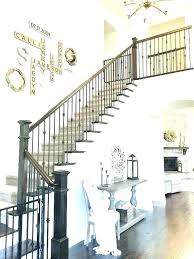 stairway wall decorations decoration stairway wall ideas amazing best staircase decorating images on with from