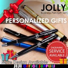 qoo10 name engraving pen gift set name engraving personalised gift pen set stationery sup