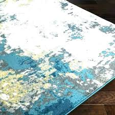 turquoise and yellow rug teal area grey mustard navy interior turquoise and yellow rug