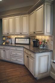 elegant antique white glazed kitchen cabinets top 1000 regarding decor 13