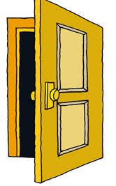 doors clipart. Perfect Clipart Door Clipart Inside Doors Clipart D