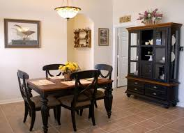 China cabinet in dining room