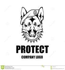 Firma Logo Design Security Company Vector Logo Design Template Stock Vector