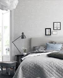 Nordic Bedroom Nice Fetching Striped Wall Decor Scandinavian Bedroom Design With