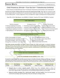 Coo Resume Sample The Best Resume Samples For Chief Operating ...