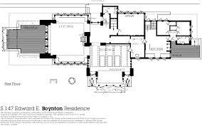 Frank Lloyd Wright Home And Studio Oak Park Ill 1st Floor Plan Frank Lloyd Wright Home And Studio Floor Plan