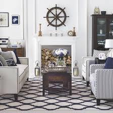 nautical inspired furniture. chic hamptonsstyle coastal living room nautical inspired furniture r