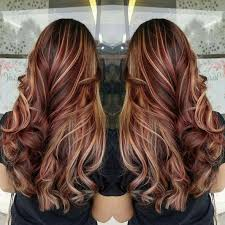 Red Hair Balayage Brown Hair Blonde