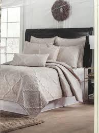 bella lux luxury linens full queen quilt set off white gold stitch