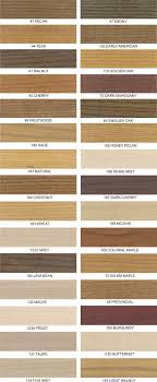 Walnut Wood Stain Color Chart Wood Stain Finishes Love The Fog Mist And Light Walnut