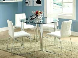 glass chrome dining table glass and chrome dining table kitchen table sets chairs glass chrome glass