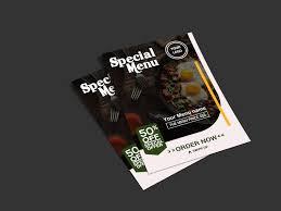 Menu Presentation Design Food Menu Design By Saad Uddin On Dribbble