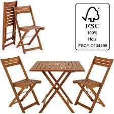 Ensemble table et chaises 3 pcs balcon pliable Salon de jardin en ...