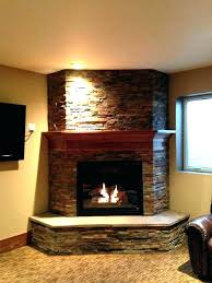 corner vented gas fireplace fireplaces inside unit prepare 17
