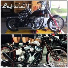 custom softail motorcycle frames. We Took A 1999 Harley Softail, Tore It Down To The Frame, And Rebuilt Completely Custom. Garage Build. Meet Penny, Before After. Custom Softail Motorcycle Frames