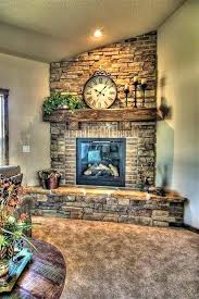 build brick fireplace outside building surround how
