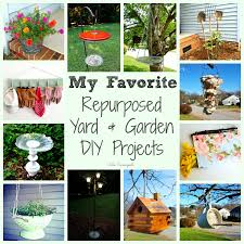 Diy Garden Projects Repurposed Upcycled Diy Projects For Your Yard Garden And Birds