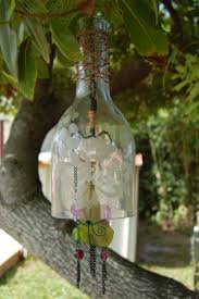 How To Make Wind Chimes How To Create Your Own Green Retro Wind Chime Out Of Recycled Wine