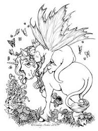 Small Picture Coloring Pages for Adults Only Unicorn Coloring Page by TabLynn