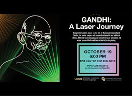 Laser Light Show Colorado Catch The Gandhi Laser Light Show On Oct 19 At The Ent