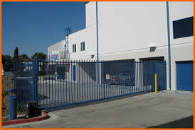 electronic secured gate