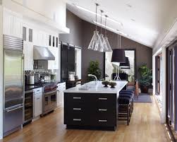 Kitchen With Vaulted Ceilings Kitchen Lighting Ideas Vaulted Ceiling Kutsko Kitchen
