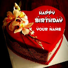 Happy Birthday Cake Name Editor Gif
