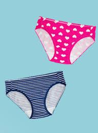 Girls Underwear Size Guide Fruit
