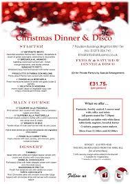 Christmas Party Ideas: Dinner \u0026 Disco - Al Duomo
