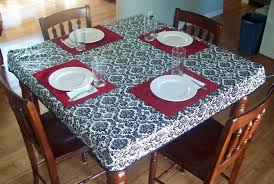 elegant stay put elastic tablecloth inch round vinyl square tabl on dining table cover ideas room