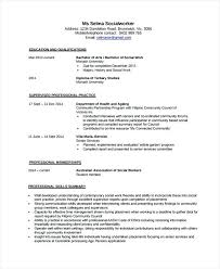 Social Work Resume Templates Unique School Social Work Resume Templates Social Worker Resume Sample