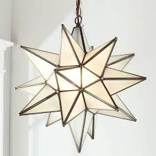 moravian star pendant light mercury