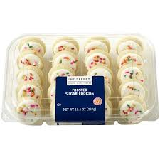 frosted sugar cookies walmart. Modren Cookies Freshness Guaranteed Mini White Frosted Sugar Cookies 105 Oz 20 Count Inside Cookies Walmart