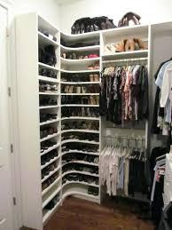 corner shoe shelf closet corner shoe shelves contemporary closet build corner shoe shelf