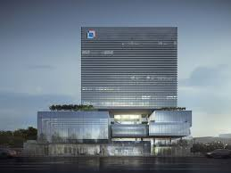 high tech modern architecture buildings. Located At The Traditional Chinese Medicine Science And Technology Park Within New High-tech Business District In Zhuhai, Design Of Block Is High Tech Modern Architecture Buildings R