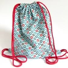Drawstring Backpack Pattern Simple Make A Drawstring Backpack Craftgawker
