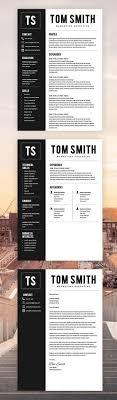 2066 Best Cv Resume Design Images On Pinterest Cv Resume