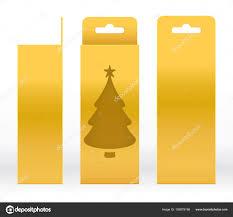 diy scandinavian tree garland array hanging box gold window tree shape cut out packaging rh depositphotos