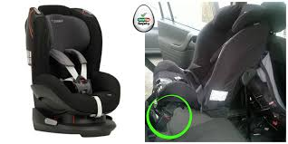 ff rf buckle crunch avoid the seat on the left is the maxi cosi