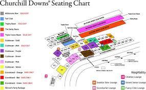 Churchill Downs Seating Chart Kentucky Derby Tickets