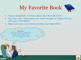 my reading e portfolio ppt video online  13 my favorite