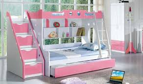 Full Size of Bedroom:fancy Bunk Bed Twin Full Stair Stepper White Staircase Bunk  Bed ...