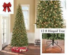 Stylish Design Tall Artificial Christmas Trees GE 12 Feet Pre Lit 12 Ft Fake Christmas Tree
