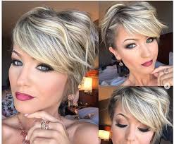 top short hairstyles for women over 50