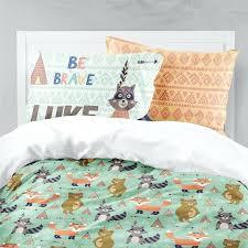 fox bedding twin fox racing bedding set