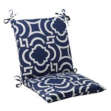 pillow perfect indoor outdoor carmody squared chair garden pads cushions cushion navy home kitchen spandex covers