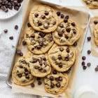 best half batch chocolate chip cookies
