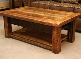 Rustic Coffee Tables With Storage For Interesting Square Rustic