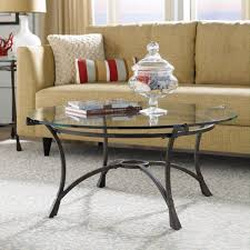 Wrought Iron Living Room Furniture Amazing Living Room With Comfortable Sofa And Glass Top Coffee