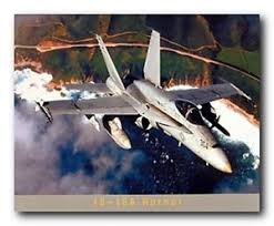 military aviation wall art
